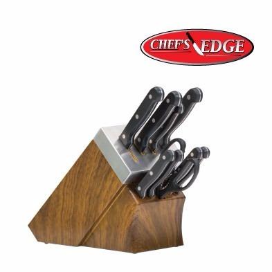 cuchillos chef profesionales chef edge + sistema autoafilado