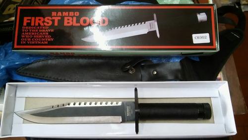 cuchillos colección x4 rambo replicas