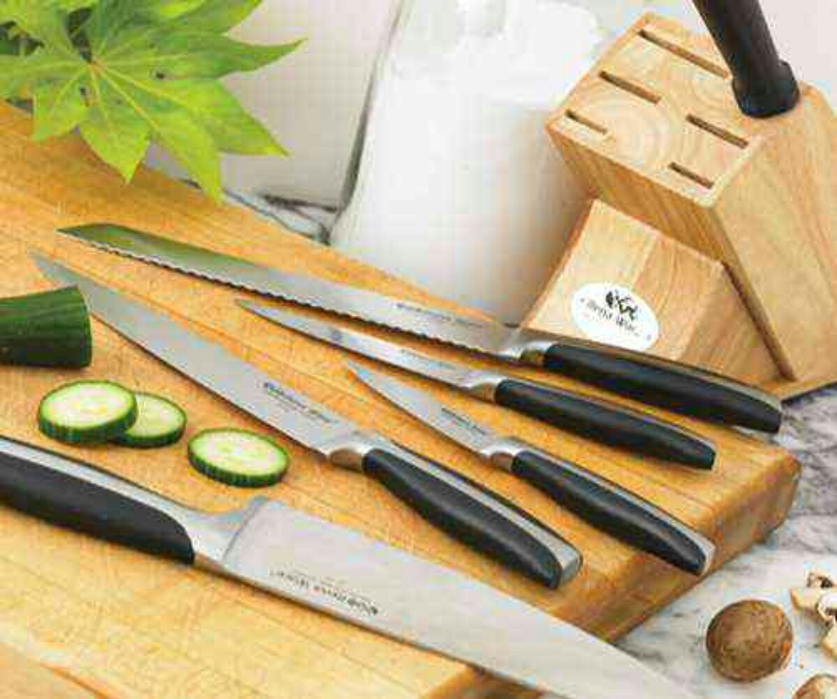 Cuchillos de rena ware serie profesional bs 3 54 en for Instrumentos de cocina profesional