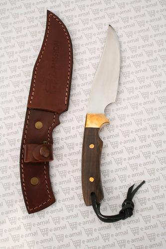 cuchillos la mission -  c0230 cuchillo a de caza acero negro