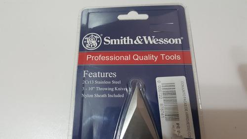 cuchillos lanzables kunais smith&wesson importados