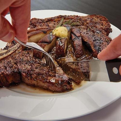 cuchillos para carne set x4