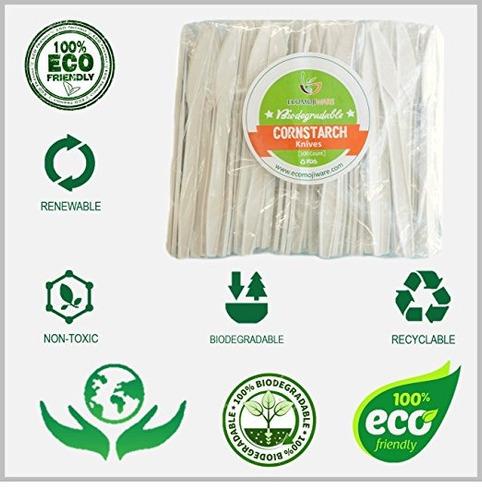 cuchillos - por ecomojiware.com - certificado compostables b