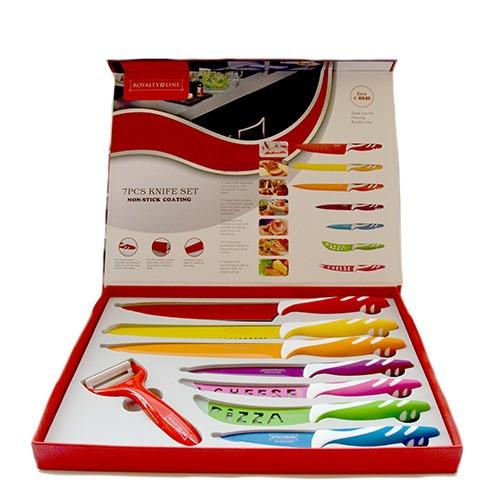 cuchillos set 7 + pelador