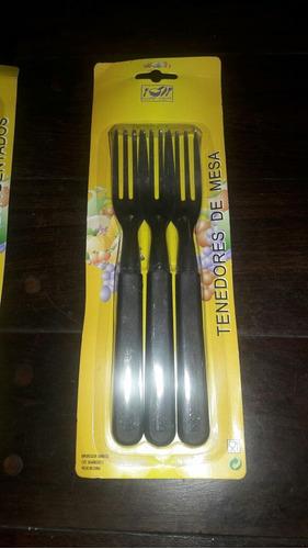 cuchillos. tenedores nuevos x 3