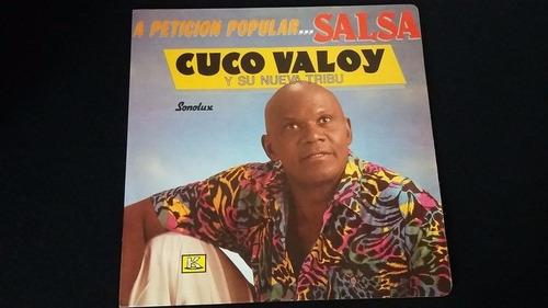 cuco valoy a peticion pupular lp vinilo merengue