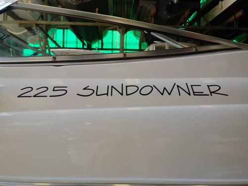 cuddy four winns 225 sundowner  volvo 5.7 gli recomendable