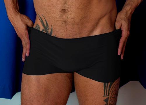 cueca  boxer invisible touch kit com 3 peças tamanho único