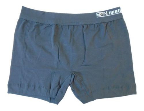 cueca boxer sem costura bressan punho na cintura kit com 10