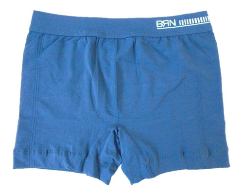 cueca boxer sem costura bressan punho na cintura kit com 7