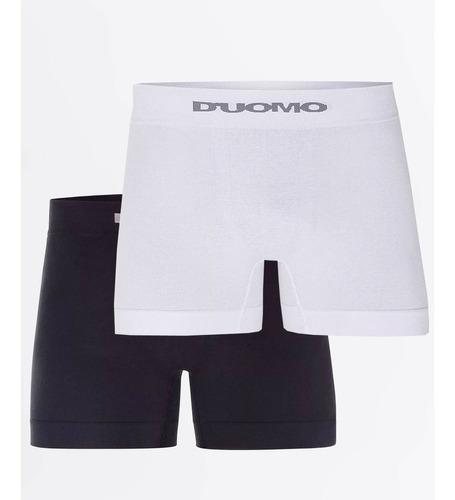 cueca boxer sem costura em algodão duomo kit com 10 peças
