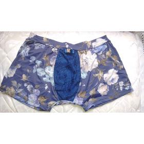 Cueca Boxer Sofisticada - Roses - Moda: Glbts
