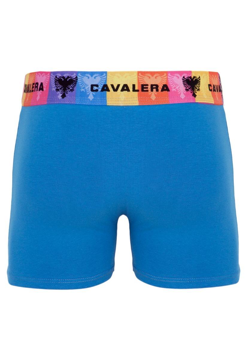 1895975a6ac6dc Cueca Cavalera Azul Sunga Faixa Colorida Masculina