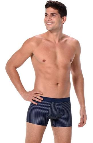 cueca keeper risca de giz boxer kit c/10 peças cores sortida