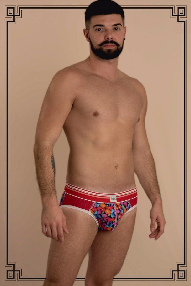 637b94945afe46 Cueca Slip Candy - Estilo, Homem, Underwear, Jockstrap, Moda