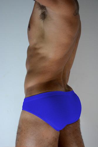 cueca slip sexy confort dry fit azul exxe wear