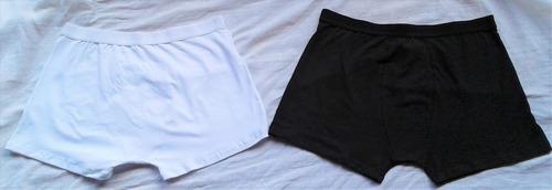 cuecas boxer de algodão com elastano fabricação própria