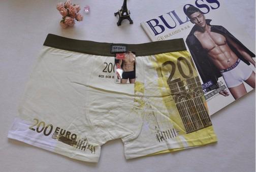 Cuecas boxer sport dinheiro 200 euros g tima qualidade r 49 90 em mercado livre - 200 euros en livres ...
