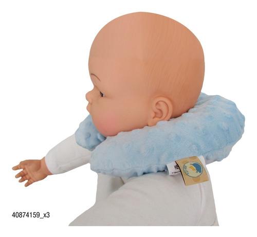 cuellera para bebe abece