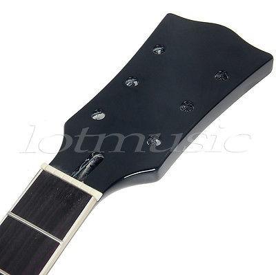 cuello de la guitarra eléctrica de gibson les paul lp...