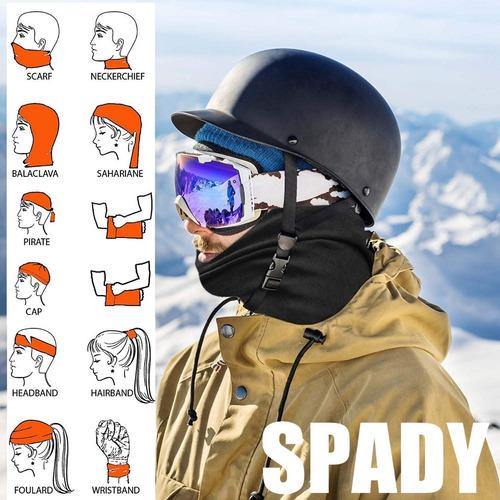 cuello multifuncion termico mascara sky bici moto balaclava