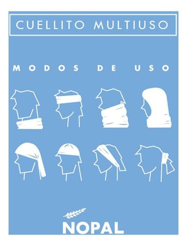 cuello multifuncion termico pañuelo nopal montaña bici moto varios modelos