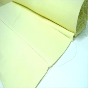 cuello para chombas amarillo crema venta x 30 unidades