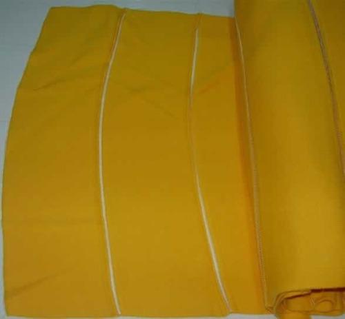 cuello para chombas amarillo oro venta x 30 unidades