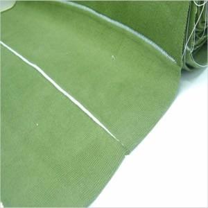 cuello para chombas verde musgo venta por 30 unidades
