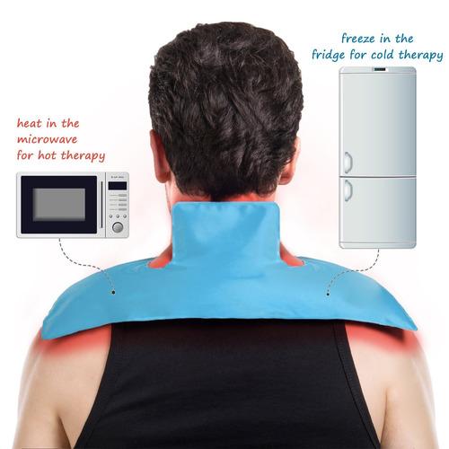 cuello y el hombro banquisa, mundo bio-caliente y fría gel p