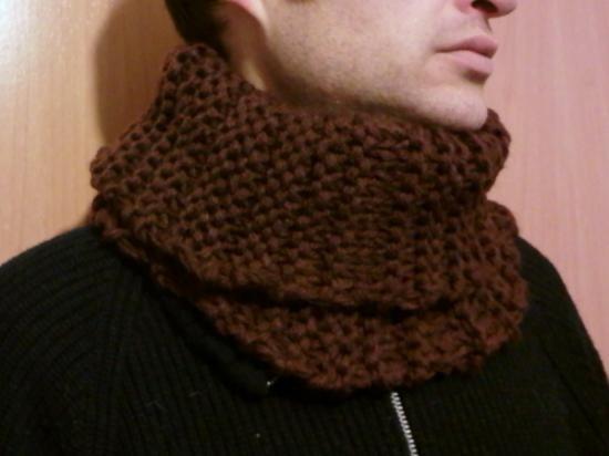 Cuellos Bufanda Unisex. Tejido A Mano Crochet. Más Modelos ...