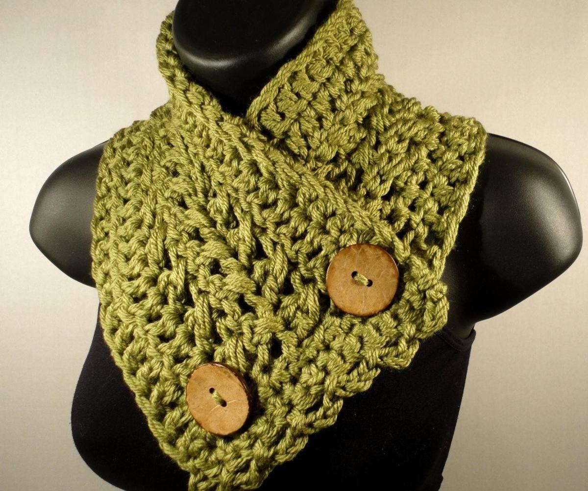 Cuellos Tejidos A Crochet - Reynas Tejidos Artesanales - $ 250,00 ...