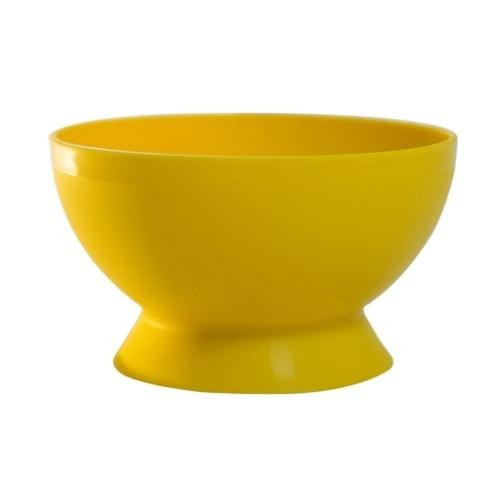 cuenco grande amarillo