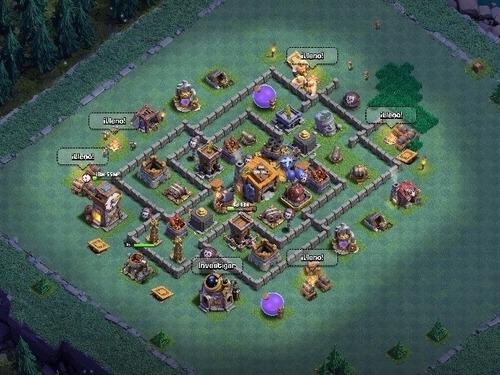 cuenta clash of clans th 11 -12