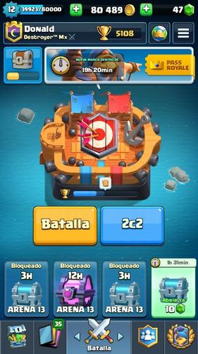 cuenta clash royale 12