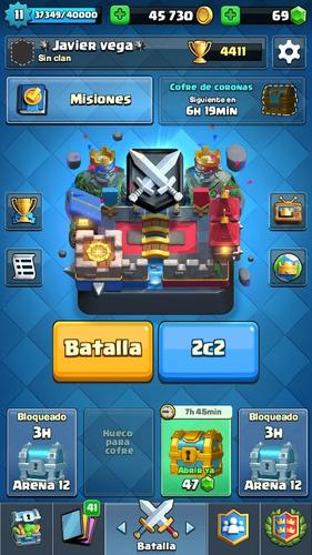 cuenta de clash royale liga 2