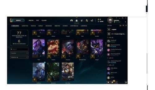 cuenta de league of legends