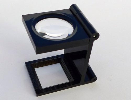 cuenta hilos 10x para dactiloscopia grafología y grafoscopia