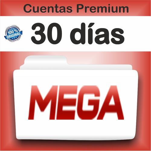 cuenta mega premium 30 dias- envio inmediato