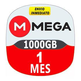 Cuenta Premium Mega 30 Dias 1 Mes 1000gb Paga Webpay O Kiphu