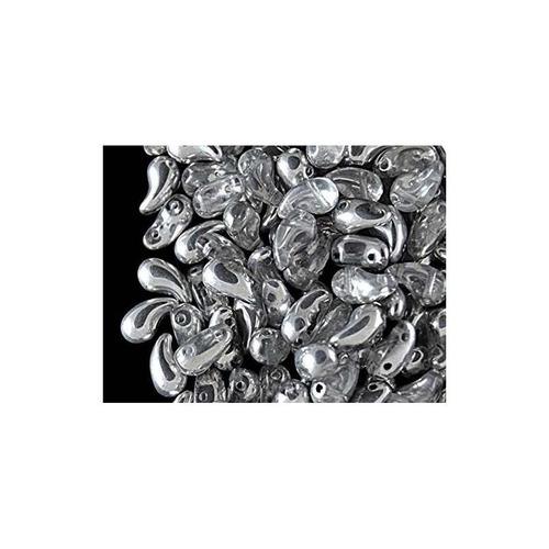 cuentas de cristal checo 4x20pcs zoliduo, 5x8 mm, 2 colores