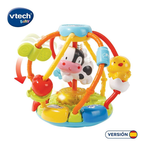 cuentas musicales vtech sonajero bola interactiva bebé