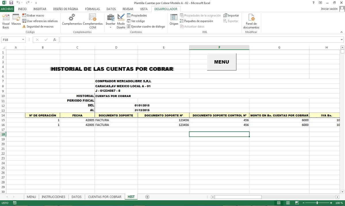 Cuentas Por Cobrar Clientes Excel Gratis - prestamos faciles medellin