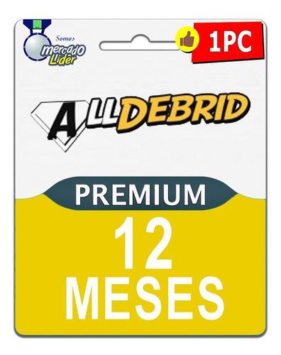 cuentas premium alldebrid 365 dias mega uploaded 1fichier
