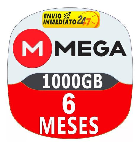 cuentas premium mega 180 dias 6 meses oficial 1000gb mensual