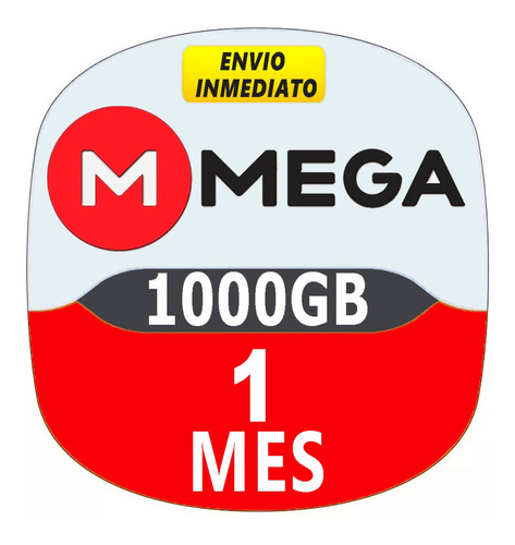 cuentas premium mega 30 dias 1 mes oficial 1000gb mensual