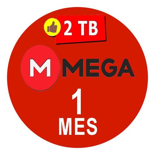 cuentas premium mega 30 dias 1 mes oficial 2000gb mensual