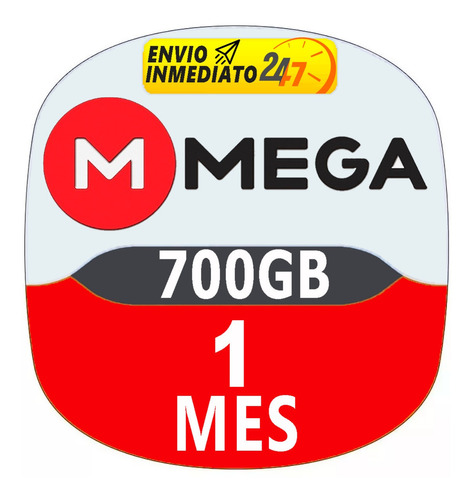 cuentas premium mega 30 dias 1 mes oficial 700gb mensual