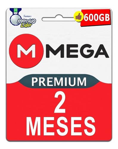 cuentas premium mega 60 dias 2 meses oficial 600gb mensual