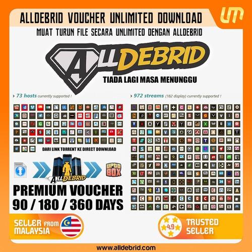 cuentas premium mega alldebrid servicio ilimitada vip oferta
